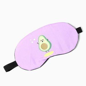 Avocado Sleep Mask Silky-Soft Pastel Colours